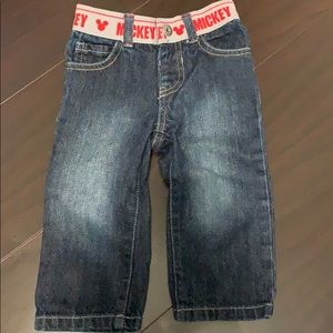 Mickey Mouse Blue Jeans 9-12 months